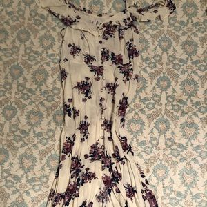 Mossimo Supply floral maxi dress